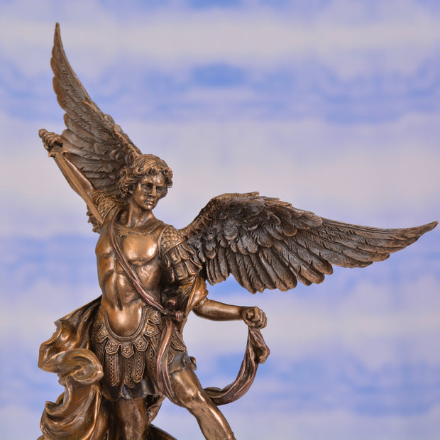 Archangel Michael, Bronze, 10 inches