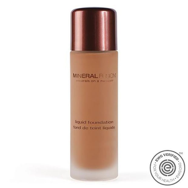 Mineral Fusion Liquid Foundation, Deep 1
