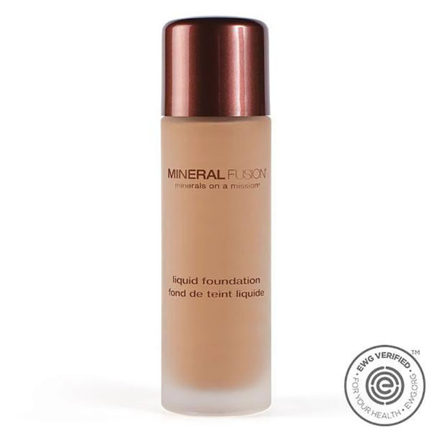 Mineral Fusion Liquid Foundation, Warm 3