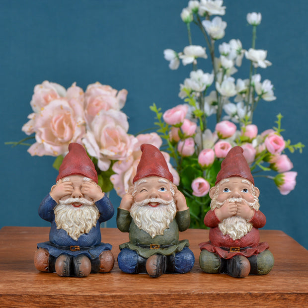 Gnomes: See No Evil, Hear No Evil, Speak No Evil