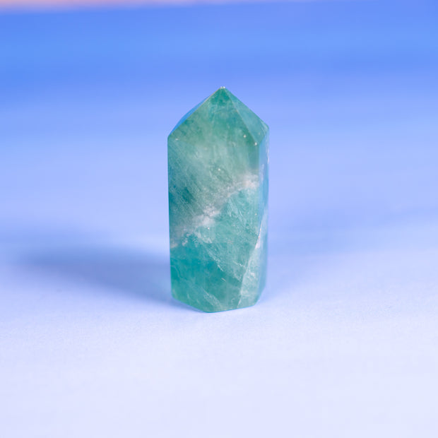 Green Fluorite Points, 2 inches