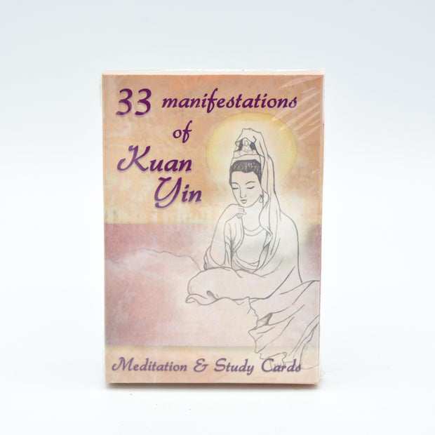 33 Manifestations of Kuan Yin Cards