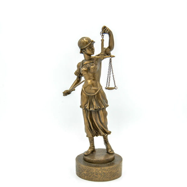 Lady Justice w/Sword Standing