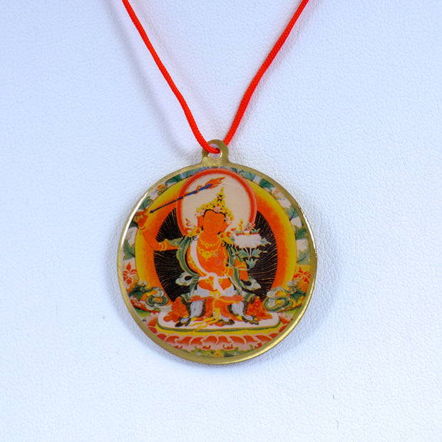 Manjushrii Pendant with Mantra