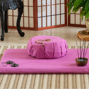 Zafu and Zabuton Set, Fuchsia