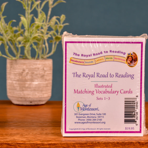 Montessori Reading Cards