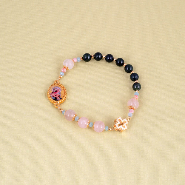 Child's Rosary to Mother Mary Bracelet