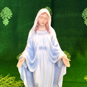 Our Lady of Grace Marble Resin Statue 7 1/2 Inches