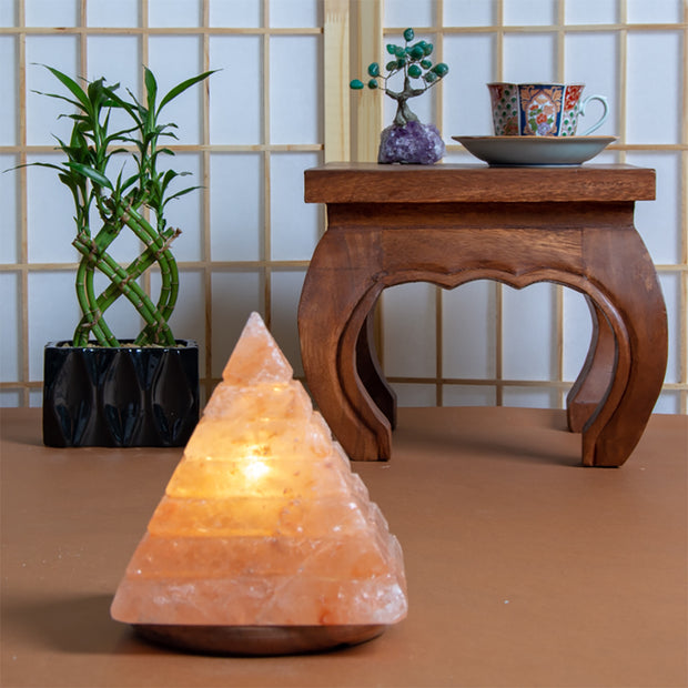 Himalayan Salt Lamp, Large Pyramid