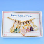 Seven Rays Crystal Necklace