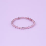 Strawberry Quartz Bracelet 6, 7 and 8mm