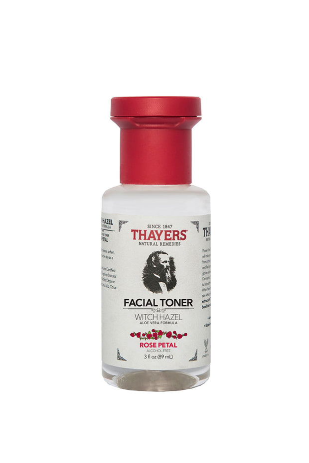 Thayer's Witch Hazel Rose Petal Facial Toner, Trial Size