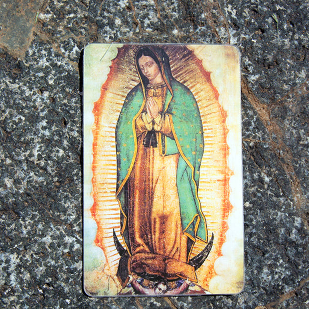 Our Lady of Guadalupe Wallet Card