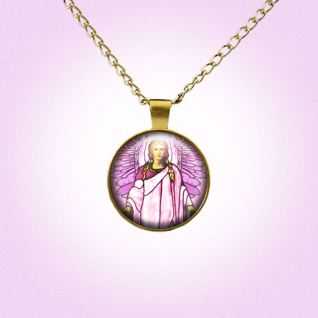 Attract the Radiance of Archangel Chamuel with this Handmade Pendant