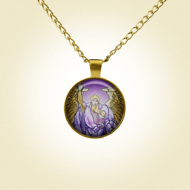 Attract the Radiance of Archangel Uriel with this Handmade Pendant