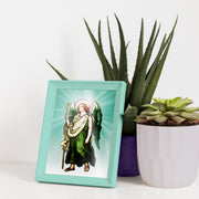 "Open a Window to Heaven with this 5 x 7"" Picture of Archangel Raphael"