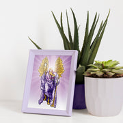 "Open a Window to Heaven with this 5 x 7"" Picture of Archangel Uriel"