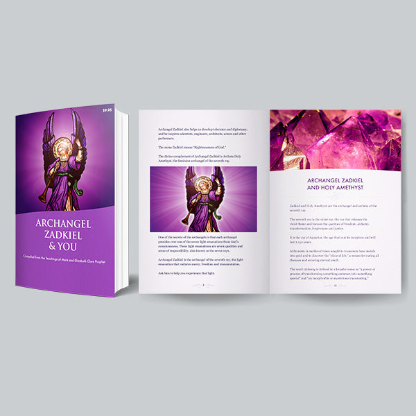 Bring to Light Key Divine Mysteries with the Archangel Zadkiel and You E-Book