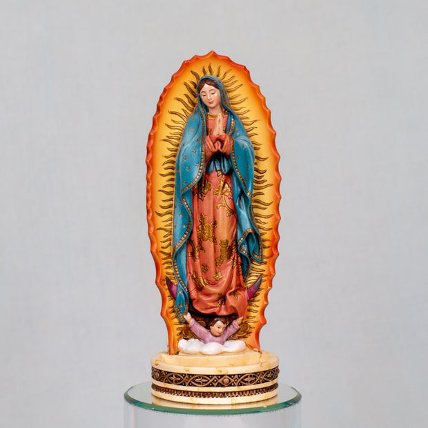 Our Lady of Guadulupe Rosary Holder