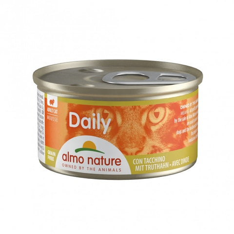 ALMO NATURE daily grain free dinde 85G