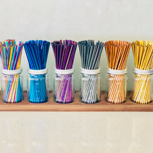 Thin Stainless Steel Straws - Sample