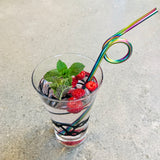 NEW! - Fancy Stainless Steel Straws