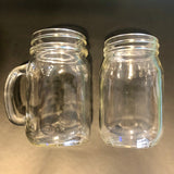 Limited Release - Cases of 16oz Mason Jars With or Without Handle