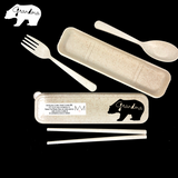 Wheat Straw Cutlery - BEAR FAMILY COLLECTION