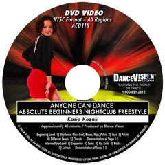 Anyone Can Dance Nightclub Freestyle - DVD