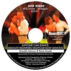 Anyone Can Dance Nightclub Slow Dancing - DVD