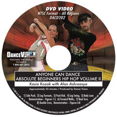 Anyone Can Dance Hip Hop Vol II - DVD