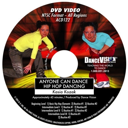 Anyone Can Dance Hip Hop - DVD