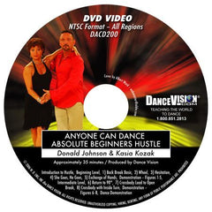 Anyone Can Dance Hustle - DVD