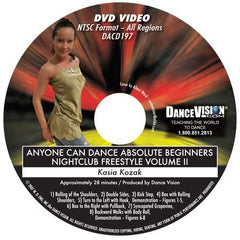 Anyone Can Dance Nightclub Freestyle Vol II - DVD