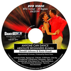 Anyone Can Dance Rumba - DVD