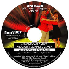 Anyone Can Dance Samba - DVD
