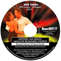 Anyone Can Dance Foxtrot - DVD
