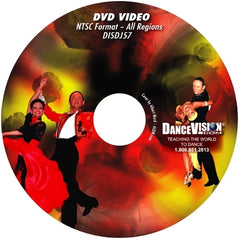 International Style Latin Open Bronze Cha Cha Variations - DVD