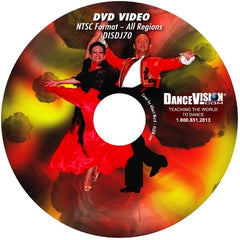 International Style Latin Open Silver Samba Variations - DVD