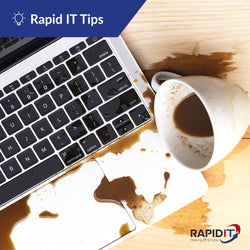 What to do when you spill liquid on your laptop?