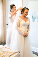 Mary's wedding day - August 4, 2018