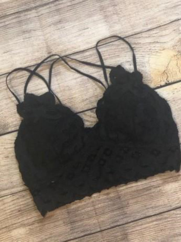 Charcoal Bralette - Shop Amour Boutique