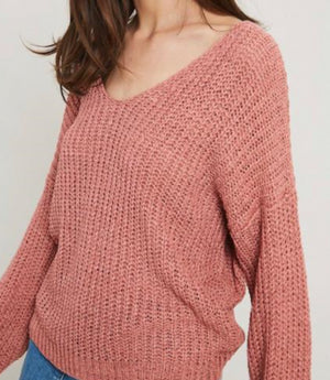 French Rose Sweater - Shop Amour Boutique