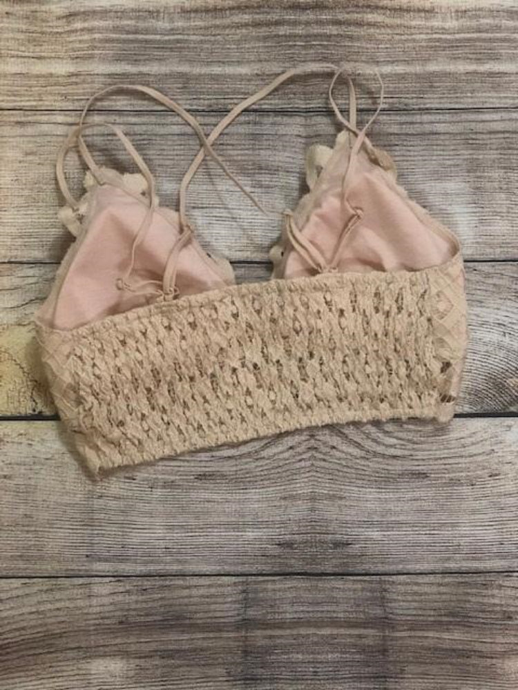 Blush Bralette - Shop Amour Boutique