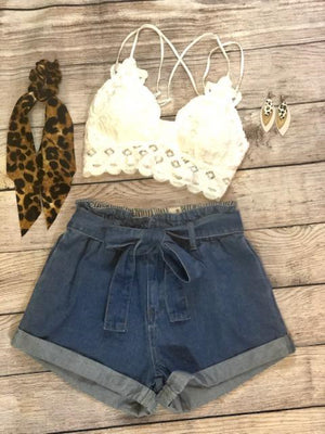Ivory Bralette - Shop Amour Boutique