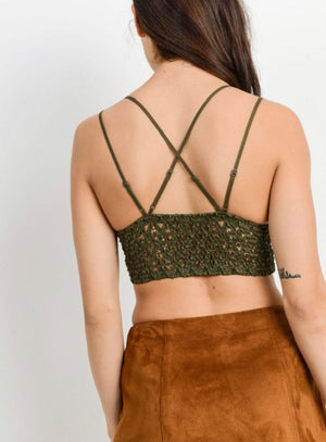 Olive Bralette - Shop Amour Boutique