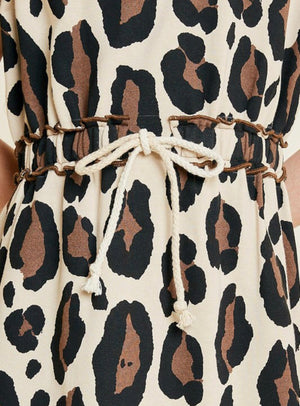Girls Leopard Dress - Shop Amour Boutique