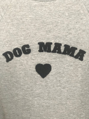 Dog Mama Cropped Sweatshirt - Shop Amour Boutique