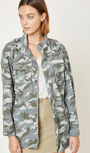 Women's Camouflage Jacket - Shop Amour Boutique