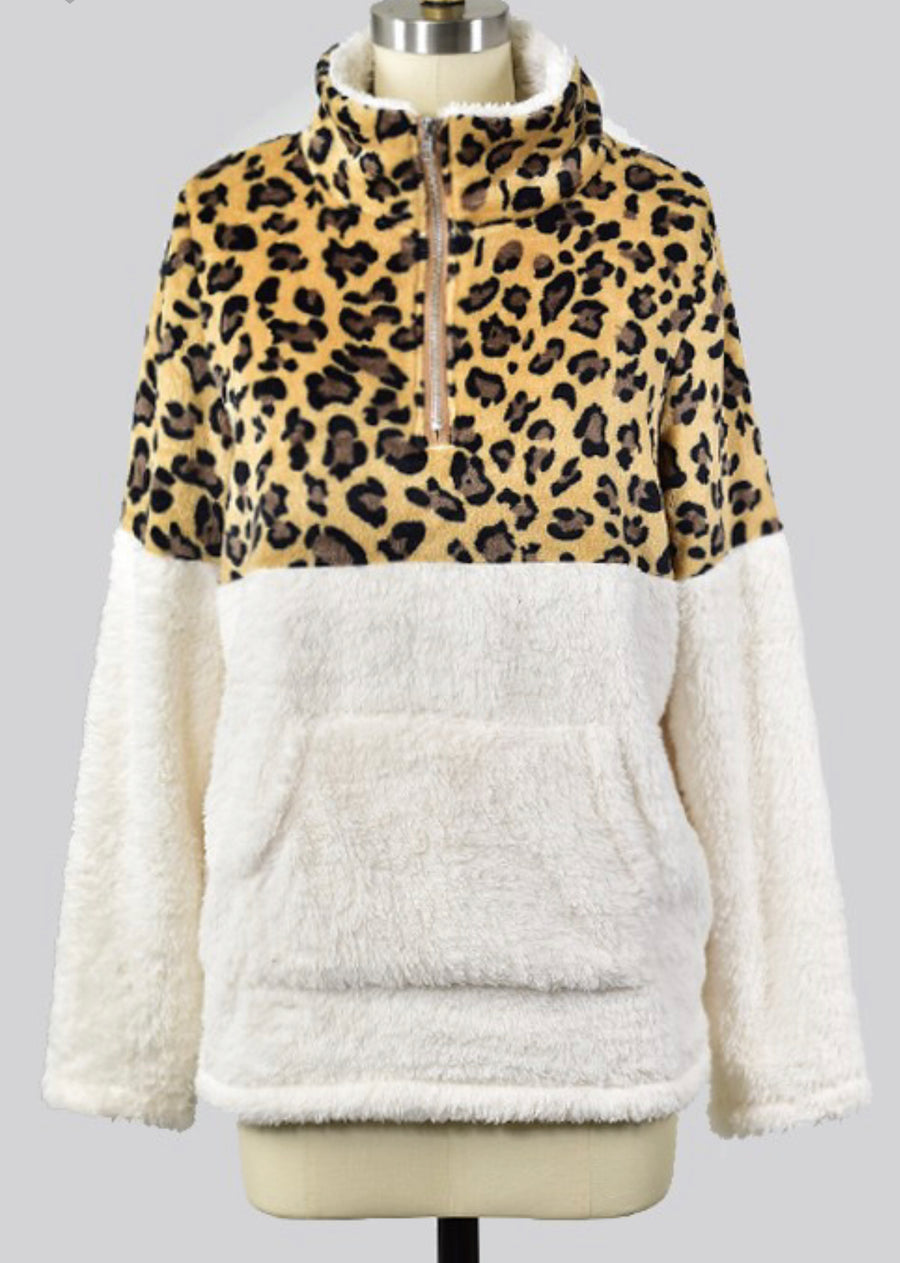 Sherpa Pullover - Shop Amour Boutique
